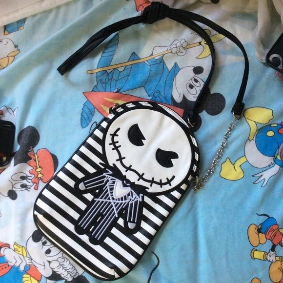 Disney Handbags - Jack Skellington Crossbody Bag Purse Disney